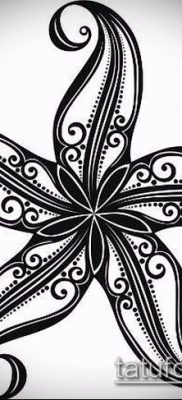 Фото тату морская звезда (Tattoo starfish) (значение) – пример рисунка – 010 tatufoto.com