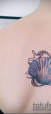 Фото тату морская звезда (Tattoo starfish) (значение) – пример рисунка – 022 tatufoto.com