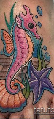 Фото тату морская звезда (Tattoo starfish) (значение) – пример рисунка – 051 tatufoto.com