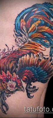 Фото тату петух (Tattoo cock) (значение) – пример рисунка – 004 tatufoto.com