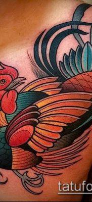 Фото тату петух (Tattoo cock) (значение) – пример рисунка – 007 tatufoto.com