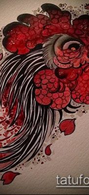 Фото тату петух (Tattoo cock) (значение) – пример рисунка – 015 tatufoto.com