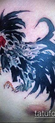 Фото тату петух (Tattoo cock) (значение) – пример рисунка – 024 tatufoto.com