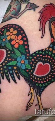 Фото тату петух (Tattoo cock) (значение) – пример рисунка – 025 tatufoto.com