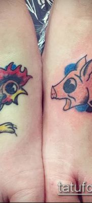 Фото тату петух (Tattoo cock) (значение) – пример рисунка – 026 tatufoto.com