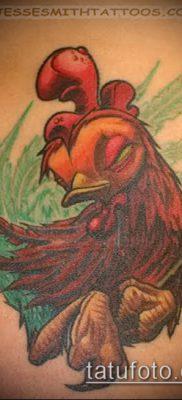 Фото тату петух (Tattoo cock) (значение) – пример рисунка – 037 tatufoto.com