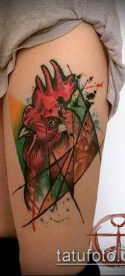 Фото тату петух (Tattoo cock) (значение) – пример рисунка – 039 tatufoto.com