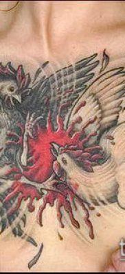 Фото тату петух (Tattoo cock) (значение) – пример рисунка – 045 tatufoto.com