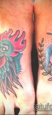 Фото тату петух (Tattoo cock) (значение) – пример рисунка – 052 tatufoto.com