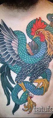 Фото тату петух (Tattoo cock) (значение) – пример рисунка – 061 tatufoto.com