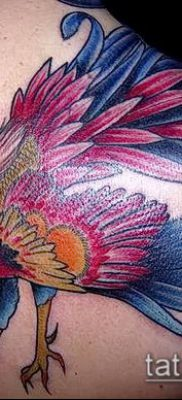 Фото тату петух (Tattoo cock) (значение) – пример рисунка – 067 tatufoto.com