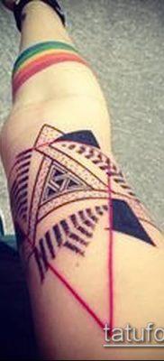 Фото тату ромб (Tattoo rhombus figure) (значение) – пример рисунка – 006 tatufoto.com