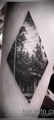 Фото тату ромб (Tattoo rhombus figure) (значение) – пример рисунка – 007 tatufoto.com