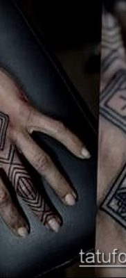 Фото тату ромб (Tattoo rhombus figure) (значение) – пример рисунка – 008 tatufoto.com