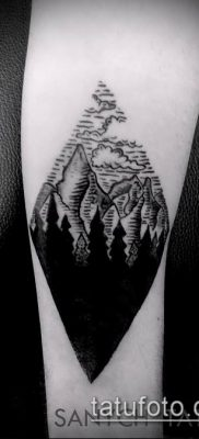 Фото тату ромб (Tattoo rhombus figure) (значение) – пример рисунка – 018 tatufoto.com