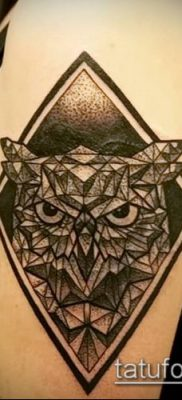 Фото тату ромб (Tattoo rhombus figure) (значение) – пример рисунка – 020 tatufoto.com