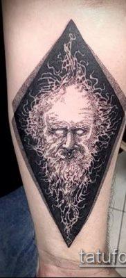 Фото тату ромб (Tattoo rhombus figure) (значение) – пример рисунка – 022 tatufoto.com