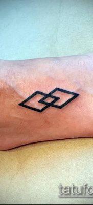 Фото тату ромб (Tattoo rhombus figure) (значение) – пример рисунка – 035 tatufoto.com