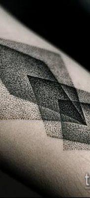 Фото тату ромб (Tattoo rhombus figure) (значение) – пример рисунка – 041 tatufoto.com