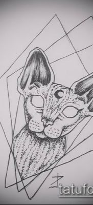 Фото тату ромб (Tattoo rhombus figure) (значение) – пример рисунка – 053 tatufoto.com
