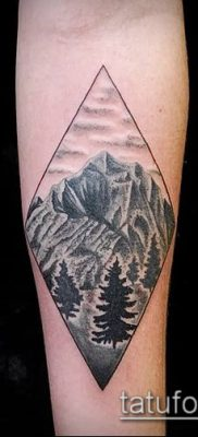 Фото тату ромб (Tattoo rhombus figure) (значение) – пример рисунка – 057 tatufoto.com