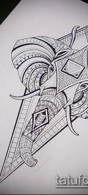 Фото тату ромб (Tattoo rhombus figure) (значение) – пример рисунка – 059 tatufoto.com