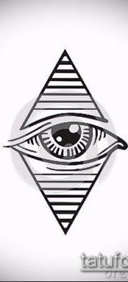 Фото тату ромб (Tattoo rhombus figure) (значение) – пример рисунка – 062 tatufoto.com