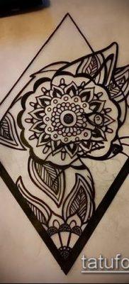 Фото тату ромб (Tattoo rhombus figure) (значение) – пример рисунка – 071 tatufoto.com
