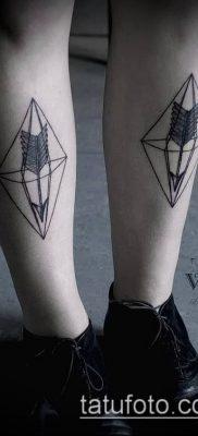 Фото тату ромб (Tattoo rhombus figure) (значение) – пример рисунка – 077 tatufoto.com