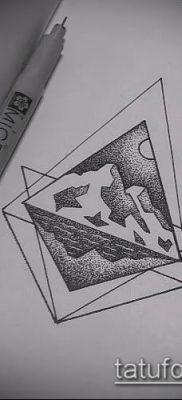 Фото тату ромб (Tattoo rhombus figure) (значение) – пример рисунка – 082 tatufoto.com