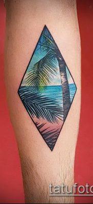 Фото тату ромб (Tattoo rhombus figure) (значение) – пример рисунка – 085 tatufoto.com