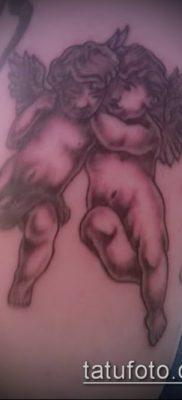 Фото тату херувимы (Tattoo of cherubs) (значение) – пример рисунка – 001 tatufoto.com