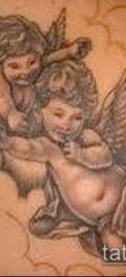 Фото тату херувимы (Tattoo of cherubs) (значение) – пример рисунка – 002 tatufoto.com