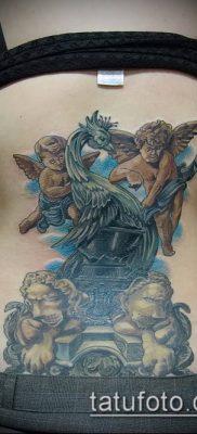 Фото тату херувимы (Tattoo of cherubs) (значение) – пример рисунка – 003 tatufoto.com