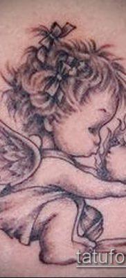 Фото тату херувимы (Tattoo of cherubs) (значение) – пример рисунка – 009 tatufoto.com