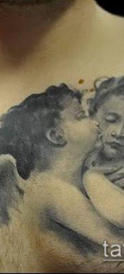Фото тату херувимы (Tattoo of cherubs) (значение) – пример рисунка – 015 tatufoto.com