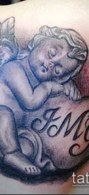 Фото тату херувимы (Tattoo of cherubs) (значение) – пример рисунка – 019 tatufoto.com