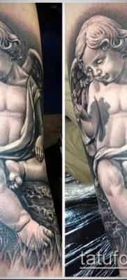 Фото тату херувимы (Tattoo of cherubs) (значение) – пример рисунка – 020 tatufoto.com
