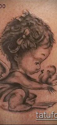 Фото тату херувимы (Tattoo of cherubs) (значение) – пример рисунка – 022 tatufoto.com