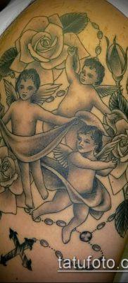 Фото тату херувимы (Tattoo of cherubs) (значение) – пример рисунка – 043 tatufoto.com