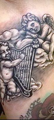 Фото тату херувимы (Tattoo of cherubs) (значение) – пример рисунка – 046 tatufoto.com