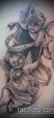 Фото тату херувимы (Tattoo of cherubs) (значение) – пример рисунка – 049 tatufoto.com