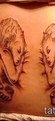 Фото тату херувимы (Tattoo of cherubs) (значение) – пример рисунка – 053 tatufoto.com