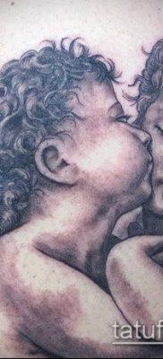 Фото тату херувимы (Tattoo of cherubs) (значение) – пример рисунка – 055 tatufoto.com