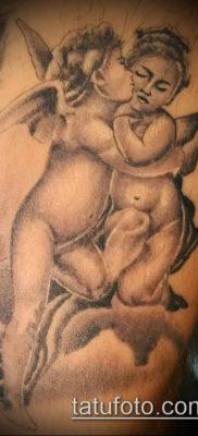 Фото тату херувимы (Tattoo of cherubs) (значение) – пример рисунка – 057 tatufoto.com