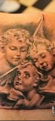 Фото тату херувимы (Tattoo of cherubs) (значение) – пример рисунка – 059 tatufoto.com