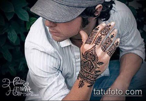 Фото тату хной для мужчин (tattoo) (значение) - пример рисунка - 002 tatufoto.com