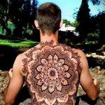 Фото тату хной для мужчин (tattoo) (значение) - пример рисунка - 012 tatufoto.com