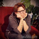 фото Тату Дианы Арбениной (tattoo) (значение) - пример рисунка - 002 tatufoto.com
