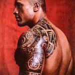 фото тату дуэйна джонсона (tattoo) (значение) - пример рисунка - 002 tatufoto.com